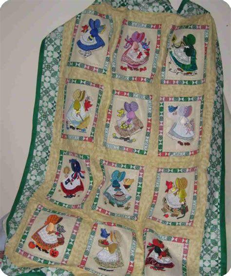 Sun Bonnet Sue Quilt by Clarkin Sunbonnet Sue