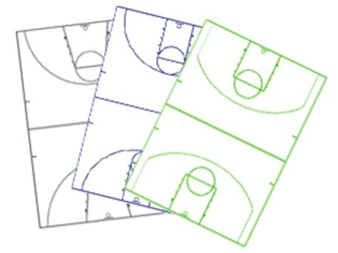 basketball play diagram software free page printable soccer field diagram clipart best