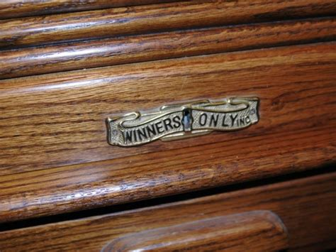 winners only inc roll top desk