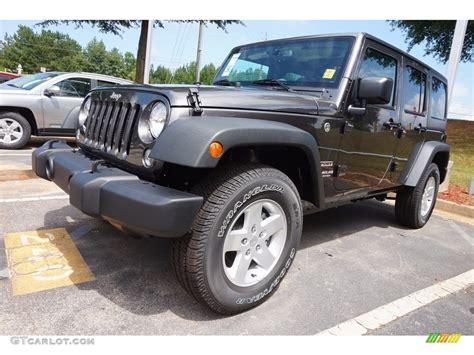 Granite Jeep 2016 Granite Metallic Jeep Wrangler Unlimited