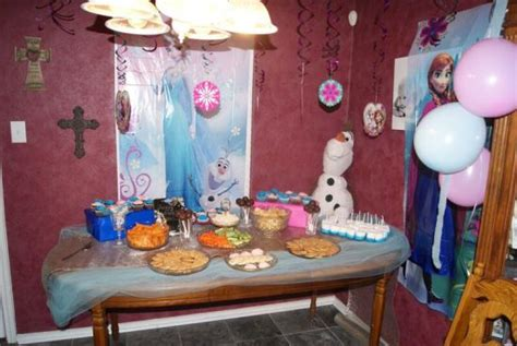 frozen party ideas for 7 year old girl unique kids frozen 7th birthday party birthday party ideas themes