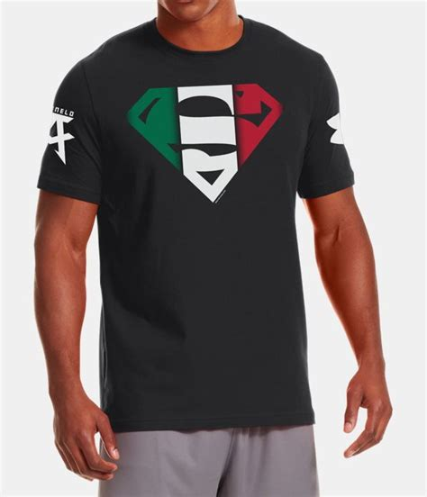 T Shirt Armour Superman 2 men s armour 174 alter ego superman canelo t shirt