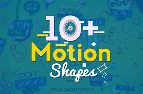 10 motion shapes free after effects templates free