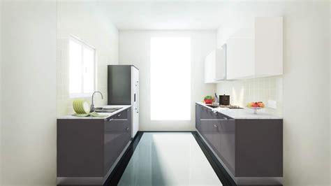 parallel kitchen kitchens