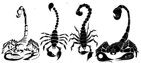 simple scorpion tattoo designs scorpion set by rogue rpz on deviantart