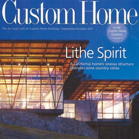 custom home magazine custom homes magazine resp custom by rushton llc