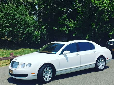 white bentley sedan white bentley luxury car limo rental cross county