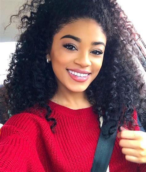women curly haircuts for latina jasmine brown jasmeannnn instagram photos pinteres