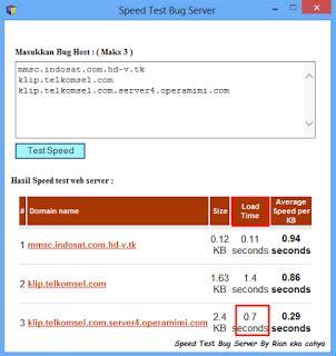bug axsis paling wusss tool untuk test qualitas bug host speed test bug server