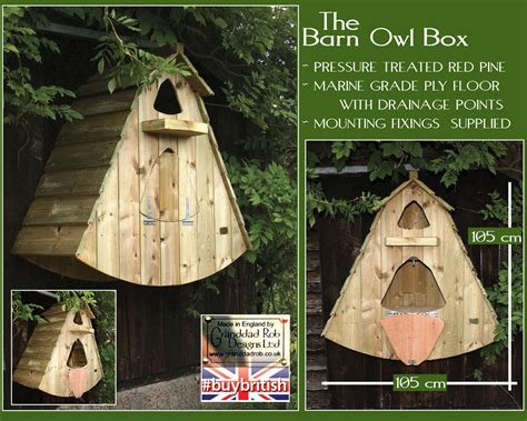 Rabbit Hutch Prices Barn Owl Box Ob Barn Presentation Gifts By Granddad Rob