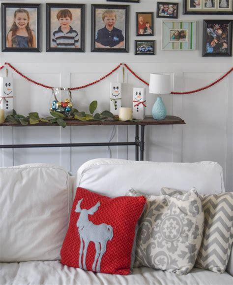 christmas home tour combining diy traditional and