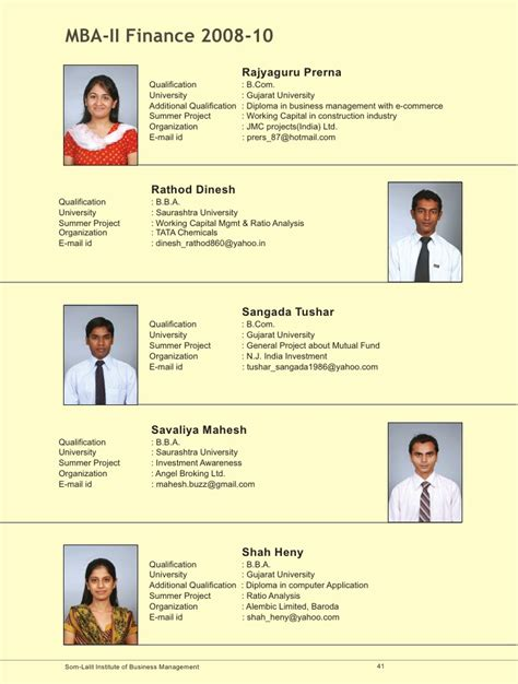 Som Lalit Mba Placements by Som Lalit Brochure Pgdm Mba 2008 10