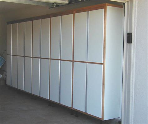 built in garage garage cabinets custom built garage cabinets