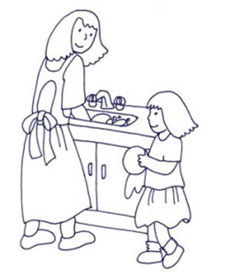 house chores coloring pages training our children to help with household chores the