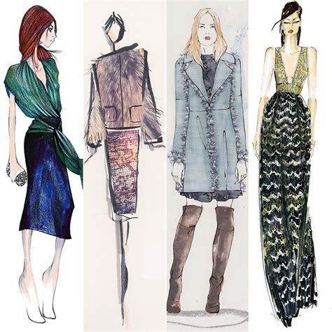 design fashion new york designer sketches from new york fashion week fall 2015