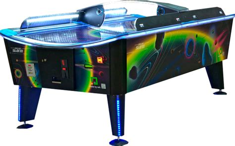wik 8ft waterproof air hockey table liberty