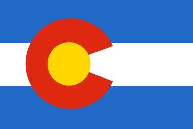 colorado state colors colorado state flag