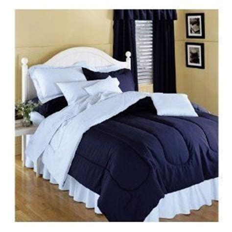 solid navy comforter com reversible solid color comforter navy blue