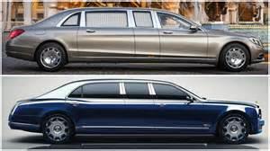 Maybach Bentley 2016 Bentley Mulsanne Grand Limousine Vs Mercedes Maybach