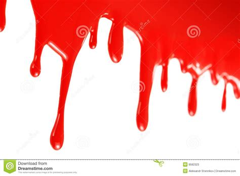 flowing paint flowing red paint stock photos image 9582323