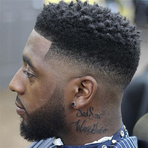 black men haircut hair ob top faded on sides and in back 50 stylish fade haircuts for black men in 2018