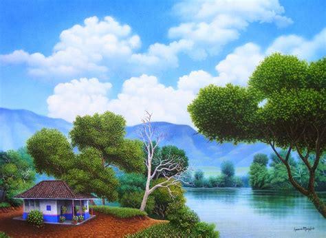 cuadros al oleo paisajes im 225 genes arte pinturas pinturas en puntillismo al 211 leo de