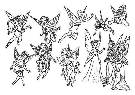 disney pixie heroes fairies coloring page netart