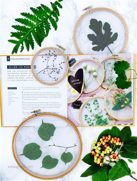 Pflanzen Deko Kreativ Und Selbstgemacht 894 best diy mit pflanzen images on