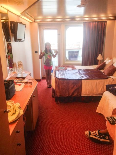 Balcony Stateroom, Cabin Category 8B, Carnival Magic