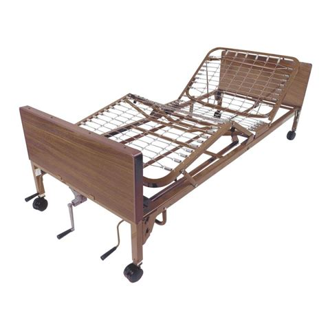 bed frame feet home depot drive multi height manual hospital bed frame only 15003