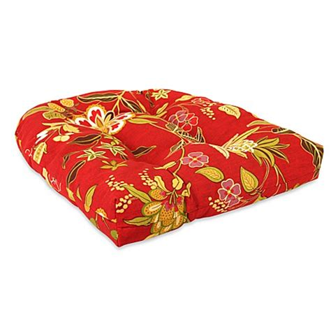 tufted outdoor chair cushions outdoor tufted wicker chair cushion in alberta salsa bed