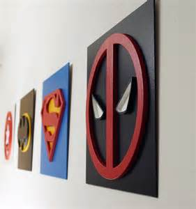 Cool Wall Art by Deadpool Wall Art Kids Bedroom Wall Art By Tobicouple On Etsy