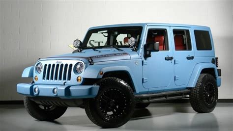 jeep baby blue 2013 jeep wrangler unlimited would you drive this jeep