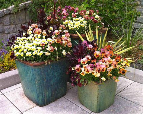 Flower Arrangements For Outside Planters by Polar Planters
