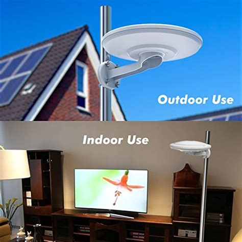 indoor outdoor hdtv antenna elechomes hg 3925 50 360 176 import it all
