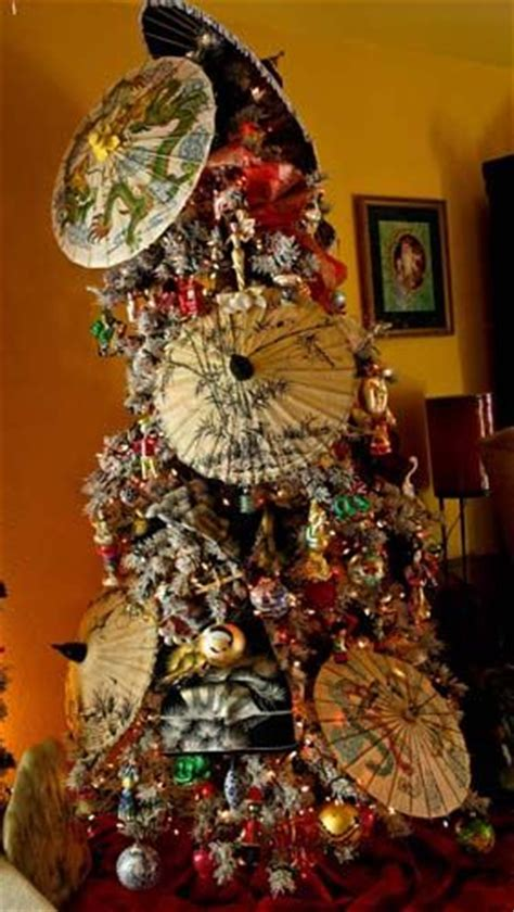 japanese themed christmas tree 38 best asian themed trees images on themed trees beautiful