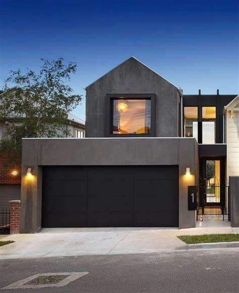 contemporary garage 25 best ideas about black garage doors on pinterest