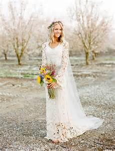 western wedding western sleeves gowns bridal wedding ideas