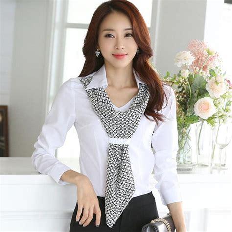 Daftar Pakaian Kerja Wanita Baju Kantor Pakaian Kerja Wanita Resmi Model Terbaru Shirt