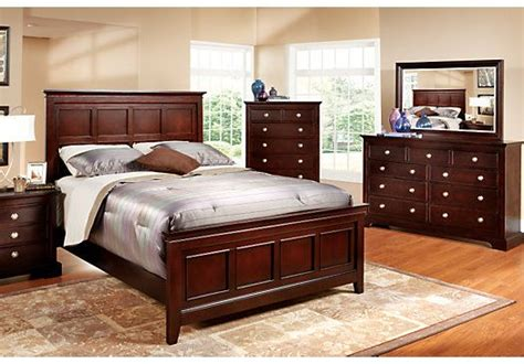 rooms to go bedroom sets brookside espresso king bedroom collection master