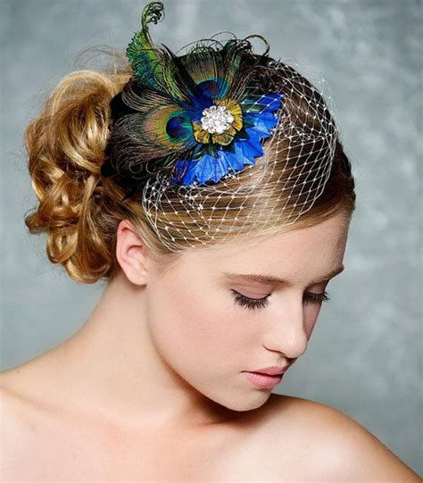 Wedding Hair Accessories Peacock by Sell Superb Peacock Bridal Hair Accessory Cobalt
