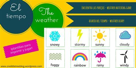 imagenes de weather en ingles el tiempo the weather onelittletree