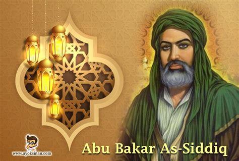 abu bakar  siddiq biografi sejarah kisah  khalifah