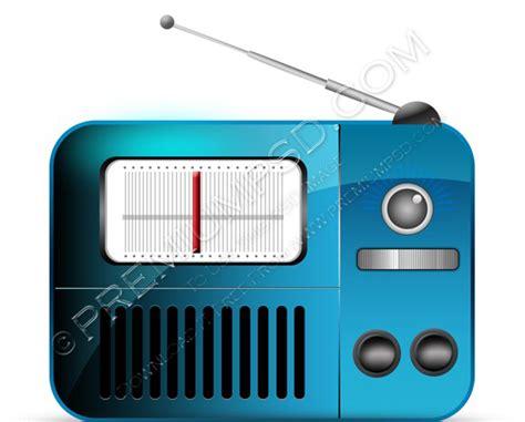 vector radio tutorial blue vector radio icon psd download premium psd