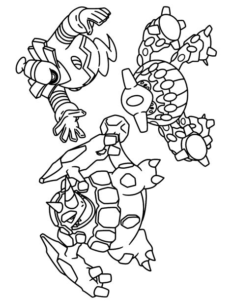 pokemon coloring pages rhyperior coloring page tv series coloring page pokemon diamond