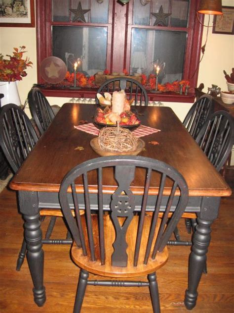primitive dining room tables best 25 primitive dining rooms ideas on pinterest