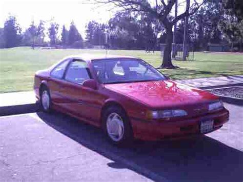 1990 ford thunderbird sc super coupe factory supercharged for sale in seattle washington find used 1990 thunderbird supercharged sc supercoupe collector car 54 419 actual miles in