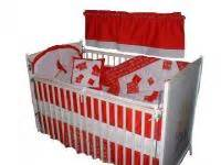 St Louis Cardinals Crib Bedding Custom Made Baby Nursery Crib Bedding Set Made W St Louis Cardinals Fabric New Ebay