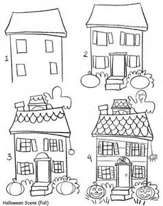 draw my house a cute haunted house for children samhain sketches pinterest child house and doodles