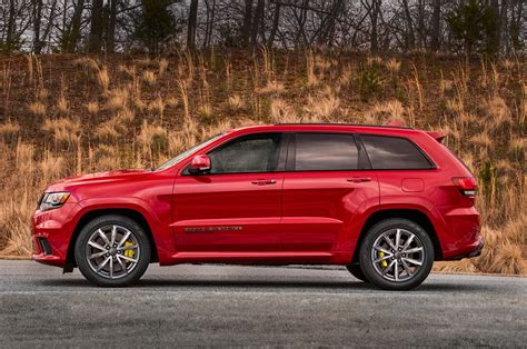 supercharged jeep grand jeep grand trackhawk is a 527kw supercharged v8